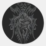 Pegatina céltico del dragón