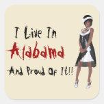 Pegatina chistoso de Alabama