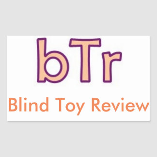Pegatina ciego del estudio (bTr) del juguete