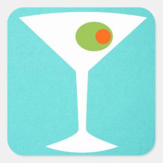 Pegatina clásico de Martini de la película