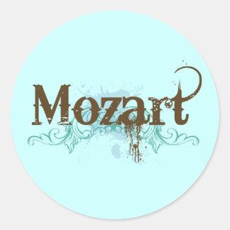 Pegatina clásico fresco de Mozart
