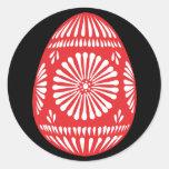 Pegatina colorido 2 de los huevos de Pascua