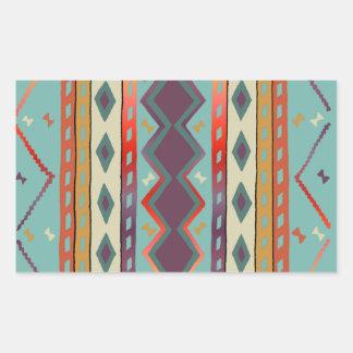 Pegatina combinado indio del diseño del sudoeste
