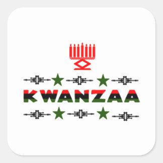 Pegatina compartido del día de fiesta de Kwanzaa