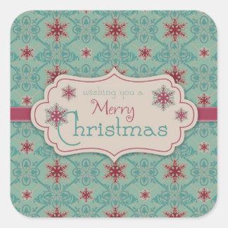 Pegatina con clase del navidad