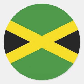 Pegatina con la bandera de Jamaica