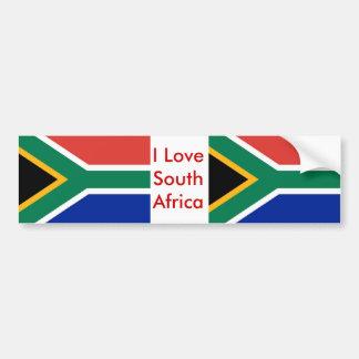 Pegatina con la bandera de Suráfrica Pegatina Para Auto