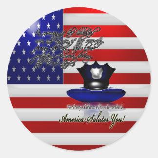 Pegatina conmemorativo del 11 de septiembre