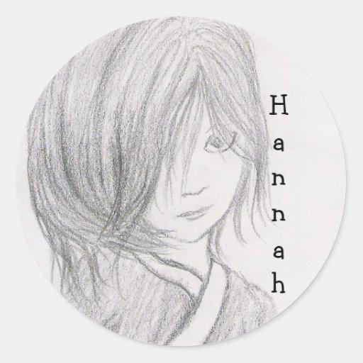 pegatina conocido para Hannah