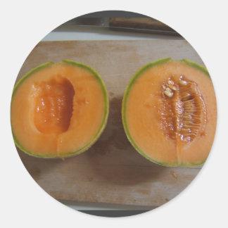 Pegatina cortado del ~ del melón