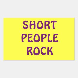 Pegatina corto de la roca de la gente
