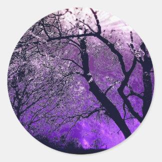 Pegatina crepuscular de la neblina
