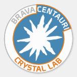 Pegatina cristalino Centauri del laboratorio de