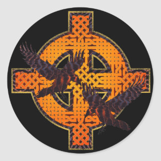 Pegatina cruzado de Viking
