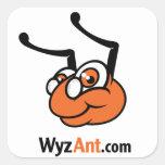 pegatina cuadrado de WyzAnt.com