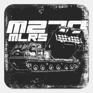 Pegatina cuadrado del MLRS M270