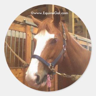 Pegatina cuarto del caballo