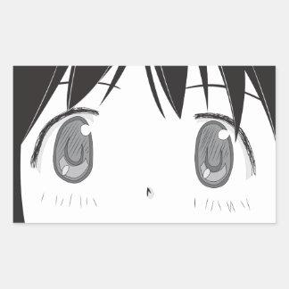 Pegatina curioso de los ojos