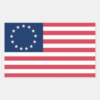 Pegatina de 1776 banderas