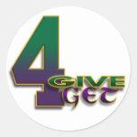 pegatina de 4-Give 4-Get 4 Favre