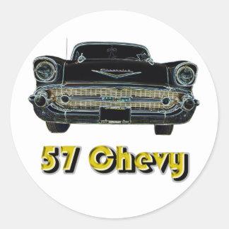 Pegatina de 57 Chevy