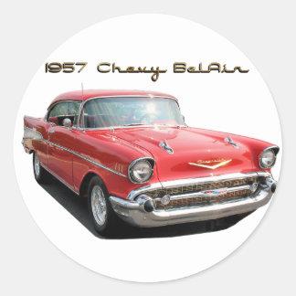 Pegatina de 57 Chevy Belair