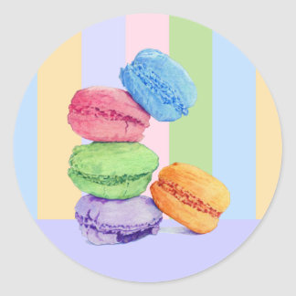 Pegatina de 5 rayas de Macarons