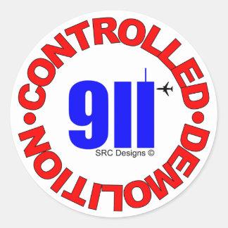 PEGATINA DE 911 CONSPIRACIONES