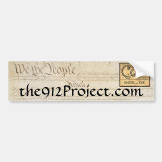 Pegatina de 912 Proyecto-Parachoques Pegatina Para Auto