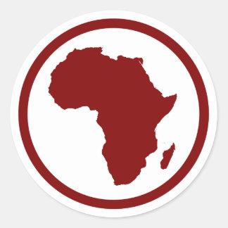 Pegatina de África