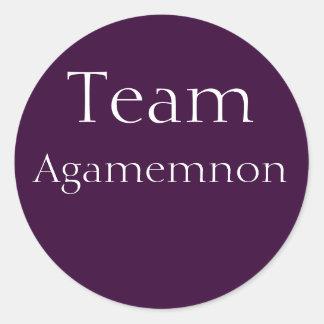 Pegatina de Agamemnon del equipo