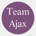 Pegatina de Ajax del equipo