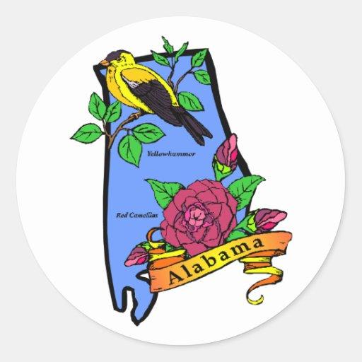 Pegatina de Alabama