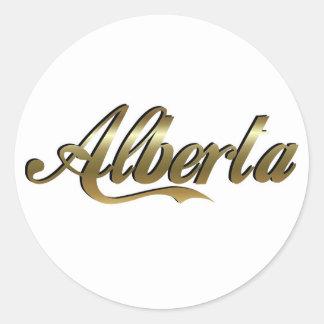 Pegatina de Alberta