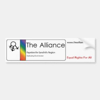 Pegatina de Alliance Bumber Pegatina Para Auto