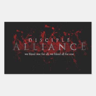 Pegatina de Alliance del discípulo