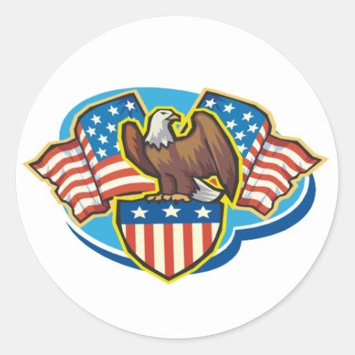 Pegatina de American Eagle