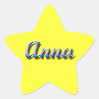Pegatina de Anna_Name