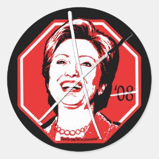Pegatina de Anti-Hillary