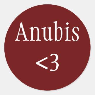 Pegatina de Anubis <3