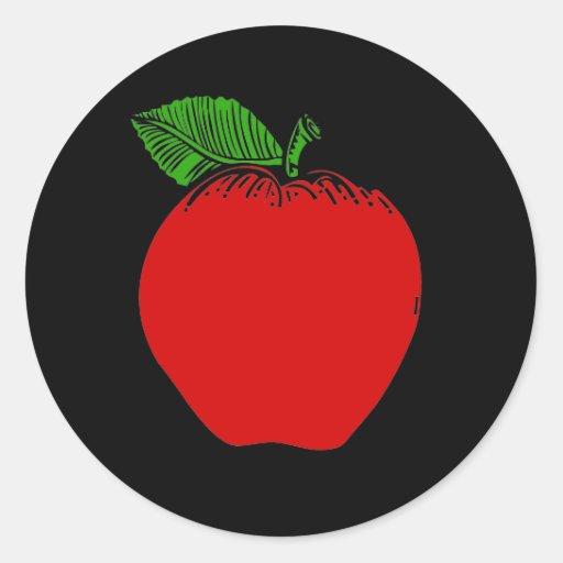 Pegatina de Apple