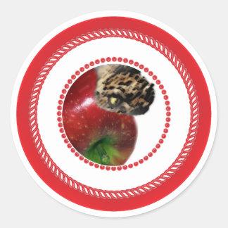 Pegatina de Apple del árbol de Jesse
