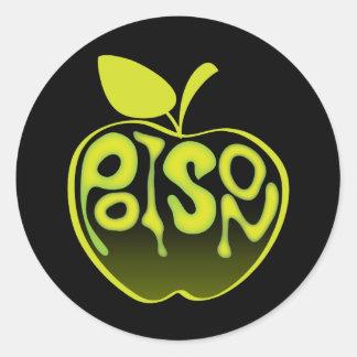 Pegatina de Apple del veneno