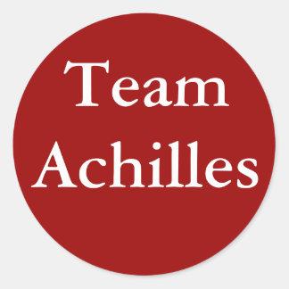 Pegatina de Aquiles del equipo