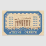 pegatina de Atenas