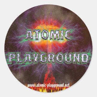 Pegatina de AtomicBlast