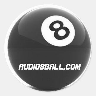 pegatina de Audio8ball.com