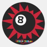 """pegatina de Audio8ball.com """"8ball"""""""