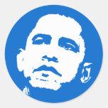 Pegatina de Barack Obama