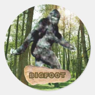 Pegatina de Bigfoot